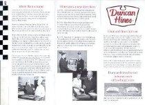 Image of Duncan Hines brochure