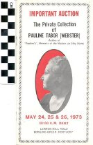 Image of The Private Collection of Pauline Tabor Auction brochure
