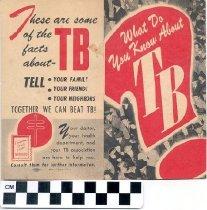Image of Tuberculosis brochure