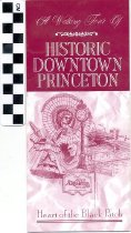 Image of Historic Downtown Princeton brochure