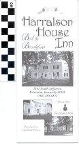 Image of Harralson House Inn brochure
