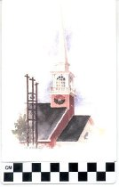 Image of church greeting card