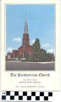 Image of The Presbyterian Church order of worship program
