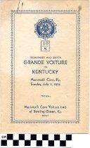 Image of Grande Voiture of Kentucky program