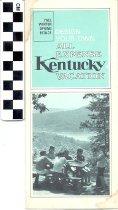 Image of Kentucky vacation brochure
