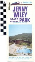 Image of Jenny Wiley State Resort Park brochure