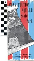 Image of Constitution Square State Park brochure