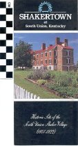 Image of Shakertown at South Union brochure -