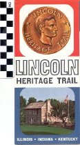 Image of Lincoln Heritage Trail brochure