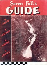 Image of Seven Falls Guide brochure