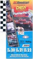 Image of Chevy High Performance Magazine Thunder Cruise brochure