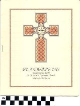 Image of St. Andrew's Day program