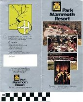 Image of Best Western Park Mammoth Resort brochure