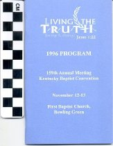 Image of Kentucky Baptist Convention Program
