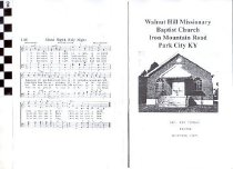Image of Walnut Hill Missionary Baptist Church program