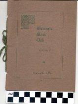 Image of Woman's Music Club [program] -