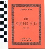 Image of The Fortnightly Club program