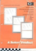 Image of Capitol Aluminum Products brochure