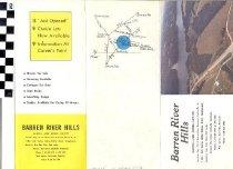 Image of Barren River Hills brochure