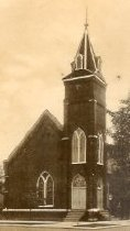 Image of KL postcard - Smiths Grove Presbyt. Church