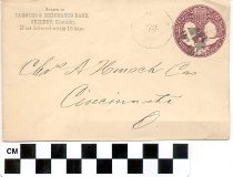 Image of Farmers & Merchants Bank, Greenup, Ky. envelope -