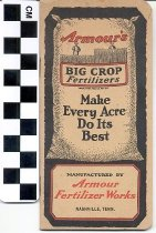 Image of Blank notebook Armour's Big Crop Fertilizers