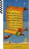 Image of 1941 W. J. Hawks Calendar