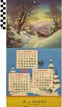 Image of W. J. Hawks 1941 Calendar
