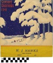 Image of W. J. Hawks Calendar