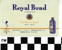 Image of Royal Bond business card