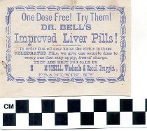 Image of Dr. Bell's Improved Liver Pills advertisement