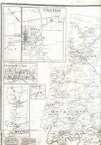 Image of Map of Barren County, Kentucky - Beers & Lanagan