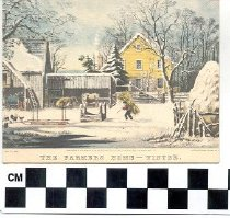 Image of The Farmers Home - Winter greeting card