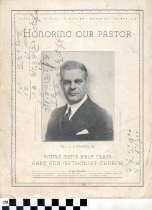 Image of Honoring Our Paster booklet