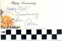 Image of Happy Anniversary greeting card