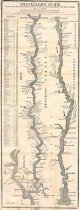 Image of Traveler's Guide:  A Map of the Ohio and Mississippi Rivers.  Extending from Pittsburgh to the Gulf of Mexico. - Conclin, George