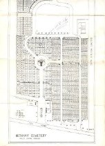 Image of Bethany Cemetery map, Valley Station, Ky. -