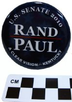 Image of 2010.220.3 - Rand Paul political button