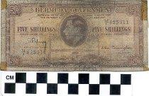 Image of Bermuda paper currency