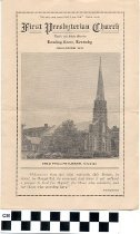 Image of First Presbyterian Church program