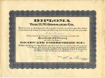 Image of Graduate Corsetiere certificate
