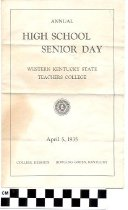 Image of Annual High School Senior Day program