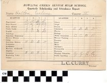 Image of Bowling Green Senior High School report card