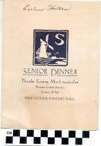 Image of Senior Dinner program