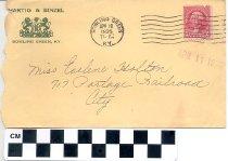 Image of Envelope from Hartig & Binzel
