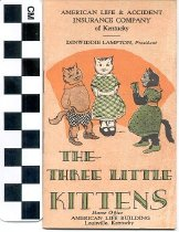 Image of The Three Little Kittens Insurance booklet