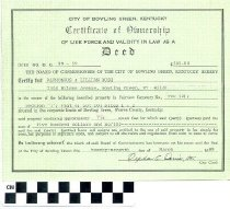 Image of Certificate of Ownership