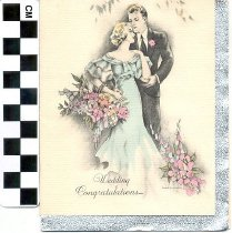 Image of Wedding Congratulations greeting card