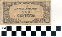 Image of 10 centavos The Japanese Government