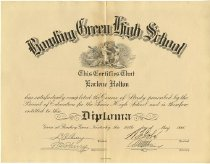 Image of Bowling Green High School Diploma of Earlene Holton